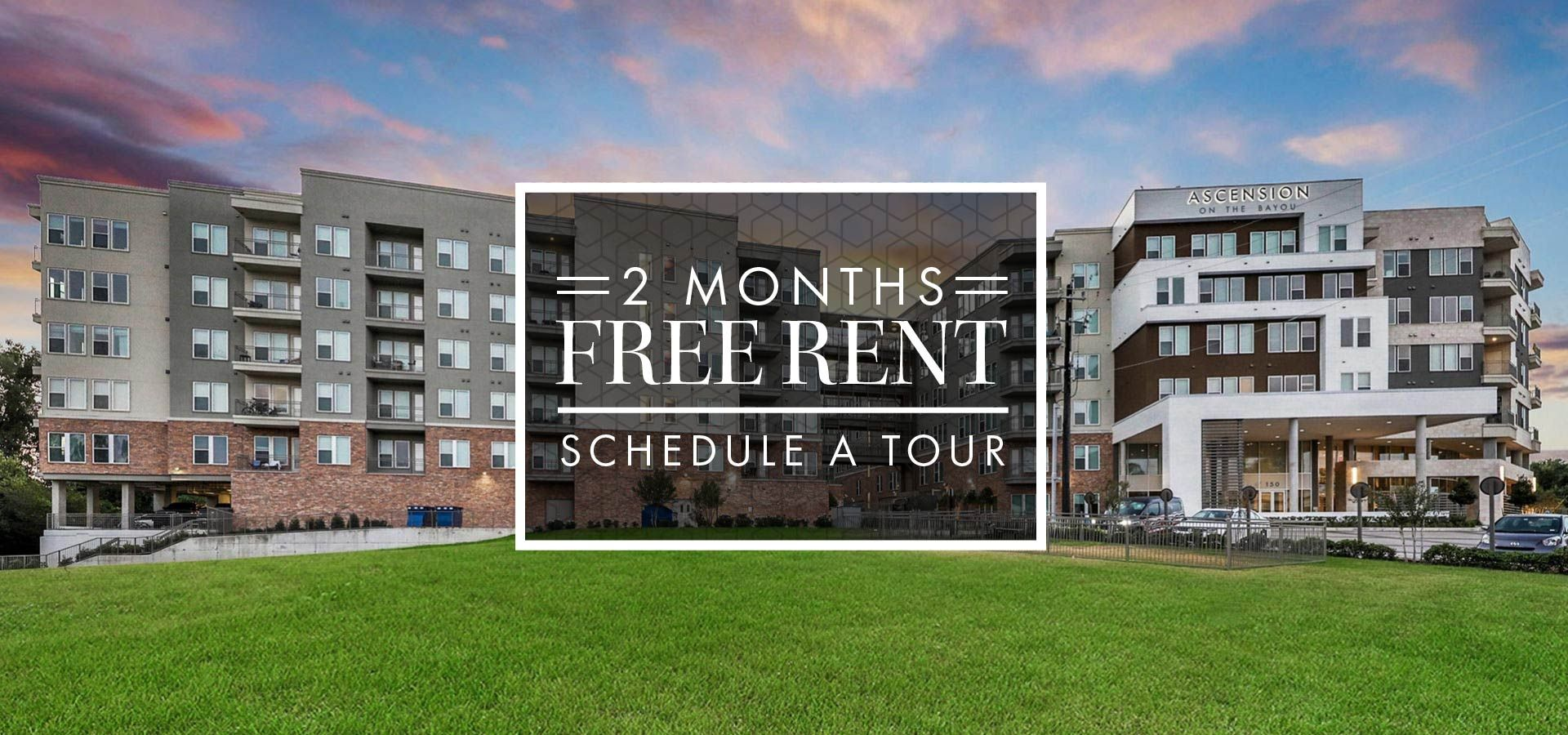 2 Months FREE RENT - Schedule a Tour
